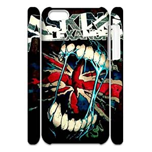 Chinese Asking Alexandria Customized 3D Phone Case for iPhone 5C,diy Chinese Asking Alexandria Cover Case