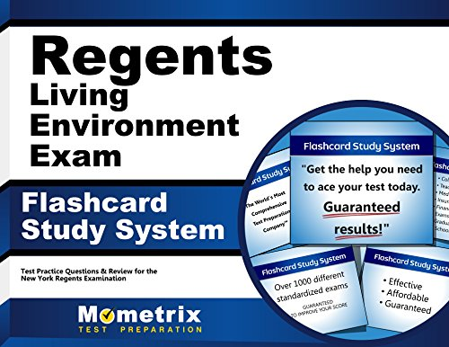 Regents Living Environment Exam Flashcard Study System: Regents Test Practice Questions & Review for the New York Regents Examinations (Cards)