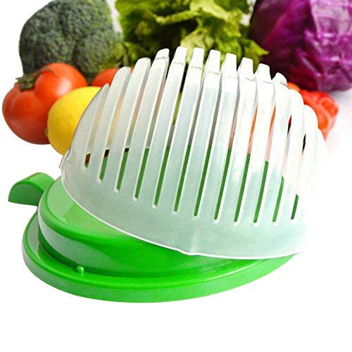 Quick Chop Salad Cutter Bowl, Easy Speed Salad Maker - Make Your Salad in 60 Seconds