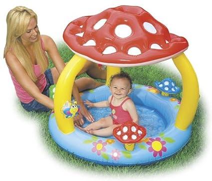 Amazon.com: Intex seta bebé hinchable piscina de vadeo ...