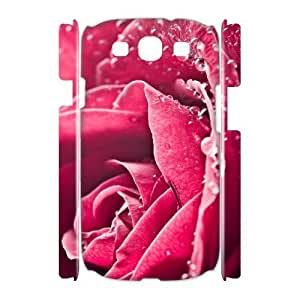 ALICASE Cover Case Rose 3D Diy For Samsung Galaxy S3 I9300 [Pattern-1]