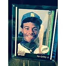 1989 Upper Deck KEN GRIFFEY Jr Rookie RC Card UD #1- Graded PSA 9 - Sharp MINT Centered - Upgrade? - Baseball