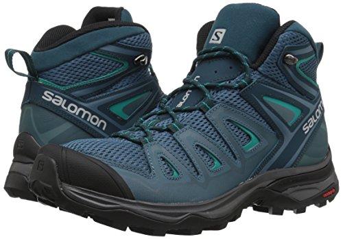 X Ultra Mid 3Aero W-Schuhe Trekking Damen Malard Blue / Re