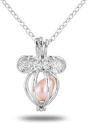 collier femme avec une perle
