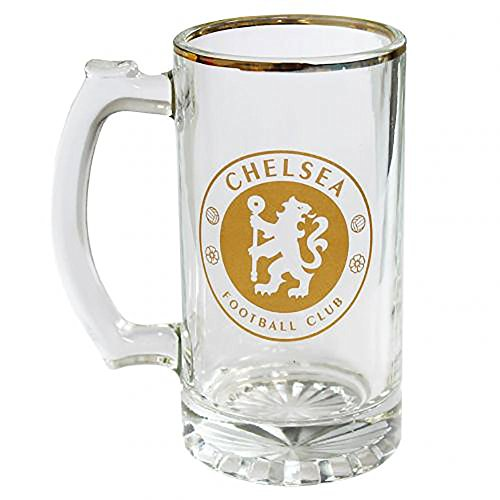 Official Licensed Chelsea F.C - Stein Glass Tankard by Official Licensed