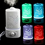 1.5L Ultrasonic Home Aroma Humidifier Air Diffuser Purifier...