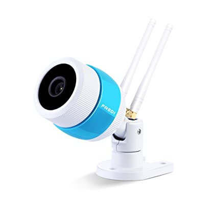Fredi - Cámara exterior Bullet IP inalámbrica HD Wifi 1080P. Camera