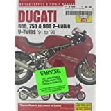 1991-2005 Ducati Monster 600 620 750 900 SS SuperSport Super Sport HAYNES REPAIR MANUAL