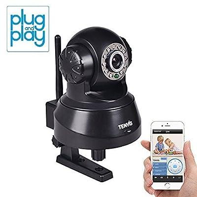 TENVIS JPT3815W Wireless IP Pan/Tilt/Night Vision/Audio Surveillance Camera with Remote Monitoring