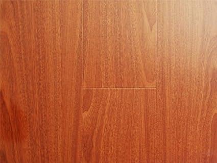 123 Mm Durique Piano Finish Laminate Diamond Mahogany Flooring 8