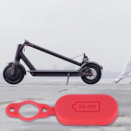 Floridivy pour Le Remplacement Xiaomi Mijia M365 Capuchon de Scooter /électrique Chargeur Port-poussi/ère en Caoutchouc Cover Interface Protecteur Cap 1