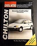1985-2000 CHEVROLET SPRINT METRO GEO SUZUKI CHILTON SERVICE MANUAL 28700 (116