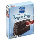 Pillsbury Moist Supreme Sugar Free Devil's Food Cake Mix, 16 Ounces