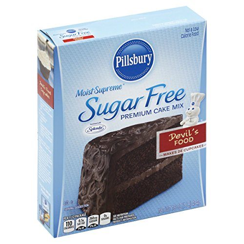 (Pillsbury Moist Supreme Sugar Free Devil's Food Cake Mix, 16)