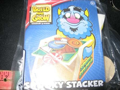 Spooky Stacker - Build and Grow Woodworking Project -