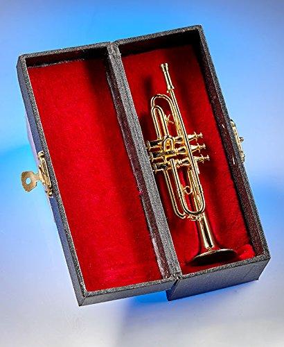 大洲市 mattsglobal mattsglobal Collectible Authentic Authentic Trumpet Look Wood and Metalレプリカミニチュア楽器 B07DWSJ3FV Brass Trumpet, まんえい堂:1d6f4726 --- hohpartnership-com.access.secure-ssl-servers.biz