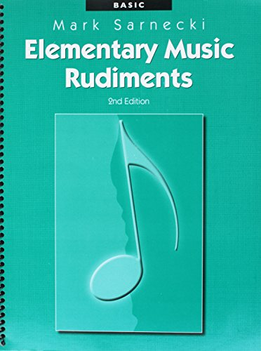 TSR01 - Elementary Music Rudiments, 2nd Edition: Basic