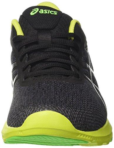 Grey Lime dark Hombre Asics Nitrofuze Gris silver neon Zapatos Para Correr qwg0B1