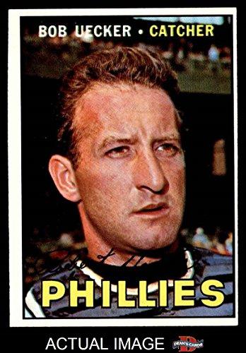 1967 Topps # 326 Bob Uecker Philadelphia Phillies (Baseball Card) Dean's Cards 5 - EX Phillies Bob Uecker Baseball