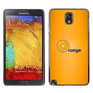 TopCaseStore / la caja del caucho duro de la cubierta de protección de la piel - Black Fruit Sweet Health Vitamin - Samsung Galaxy Note 3 N9000 N9002 N9005