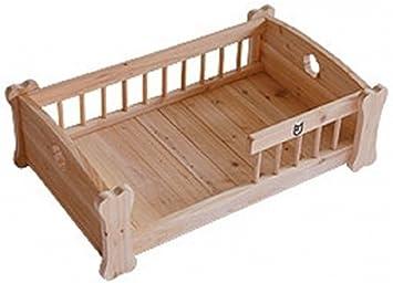 Cama de madera para animales: Amazon.es: Juguetes y juegos