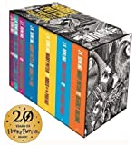 Harry Potter Boxed Set: The Complete Collection Adult Paperback (Harry Potter Adult Cover)
