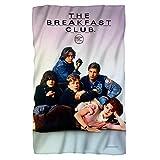 Movie Poster -- Breakfast Club -- Fleece Throw Blanket