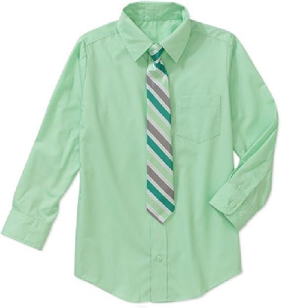 Unbekannt - Camisa - para niño Verde Verde Manzana: Amazon.es ...