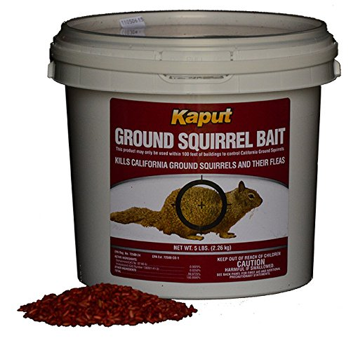 Kaput Ground Squirrel Poison Bait 50#- (Squirrel Bait Stations)