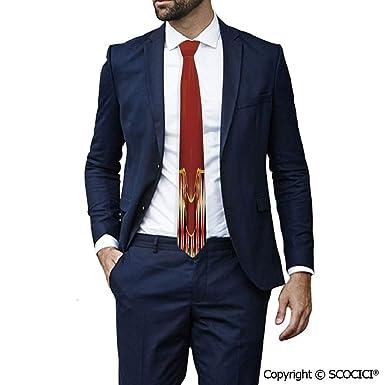SCOCICI Corbata de poliéster inspirada en el casino, diseño de ...