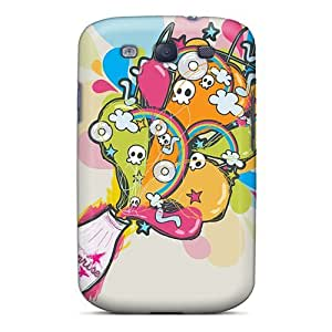 DustinHVance Case Cover Protector Specially Made For Galaxy S3 Bottle Ghost