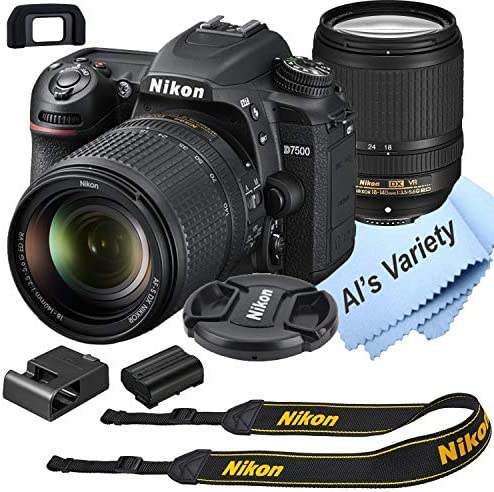 Nikon D7500 DSLR Digital camera Package with 18-140mm VR Lens | Constructed-in Wi-Fi | 20.9 MP CMOS Sensor | EXPEED 5 Picture Processor and Full HD 1080p Video Recording at 30 fps| SnapBridge Bluetooth Connectivity