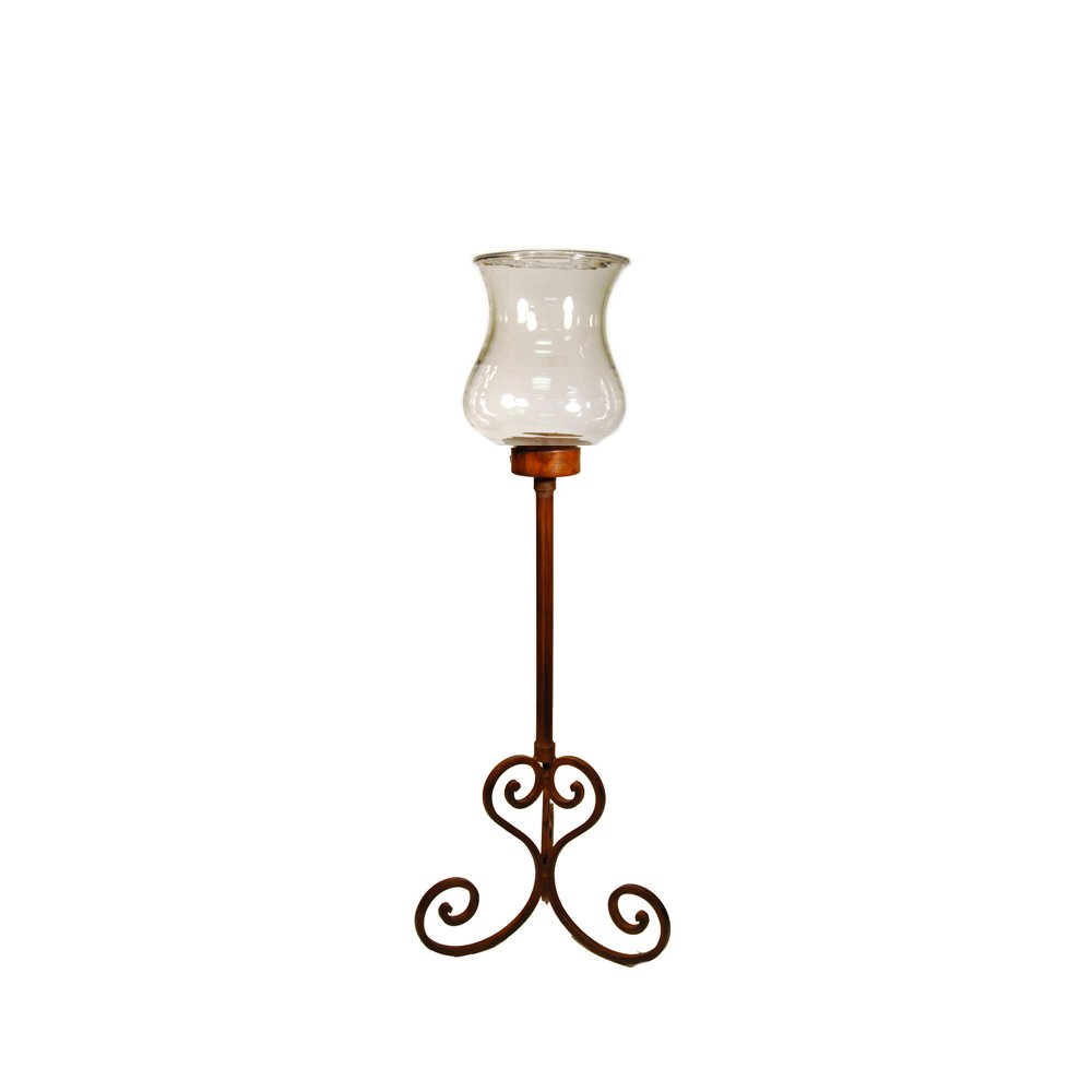 Pomeroy Small Deseo Floor Hurricane Candle Holder