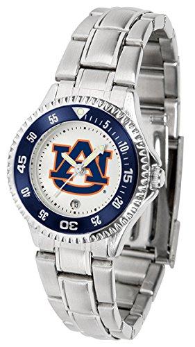 (Linkswalker Ladies Auburn Tigers Competitor Ladies Steel Watch )