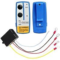 Shsyue® 12V Inalámbrico Cabrestante Interruptor para Coche