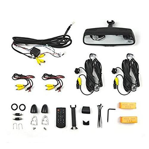 9002-2906 Dual Camera Blind Spot Monitoring System w/ 7.3
