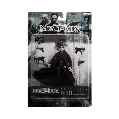 The Matrix Featuring Neo AKA Thomas Anderson Action Figure]()