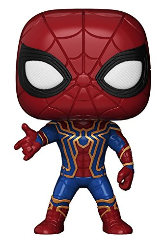 Funko Pop Spider Man Iron Spider, Avengers, Infinity War, Marvel Universe, MCU, Iron Man, Thor, Thanos, cosplay gear, action figures, Marvel items, Hulk, Spider Man, Captain America, Black Widow, Doctor Strange,