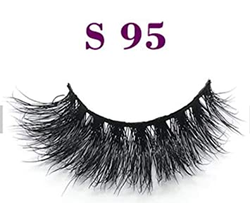 8be08078dc6 3D Artificial Faux Mink Thick False Fake Eyelashes handmade Lashes ...