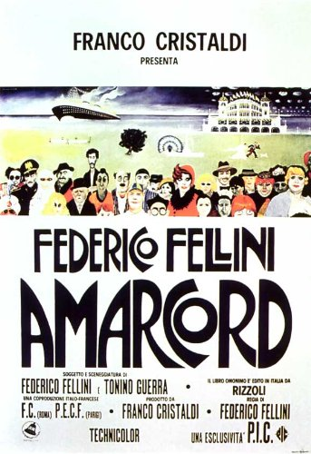 Amarcord 11x17 Movie Poster (1974)