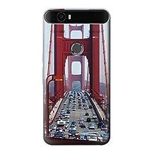 R2637 Golden Gate Bridge Case Cover For Huawei Nexus 6P