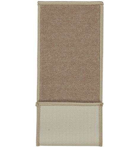 Ottomanson Skid-Resistant Rubber Backing Non-Slip Washable Rug, x Dark
