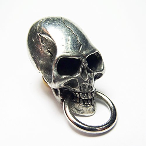 Biker Chain Wallet Connector Skull Wallet Chain Connector O-Ring Clasp Leathercraft ()
