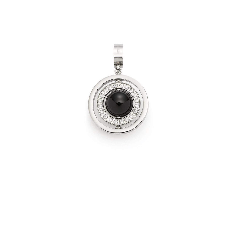 Leonardo 016730 Anhä nger Donare Darlin's - Edelstahl - Glaskugel - Zirkonia Leonardo Jewels