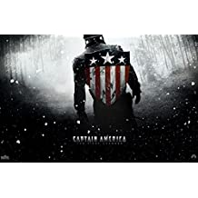 """Captain America Army Shield (The First Avenger) - 11""""x17"""" (27.94 x 43.18 cm) Movie Poster"""