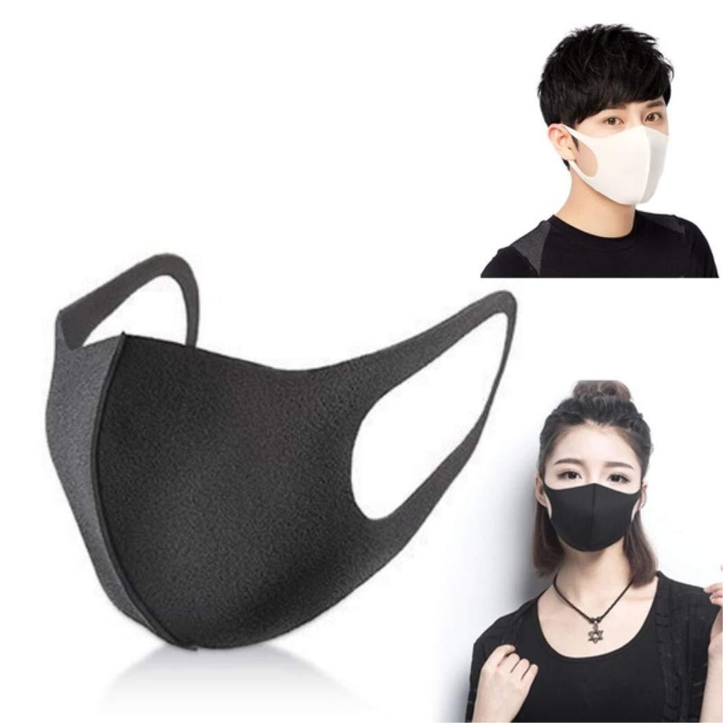 BoBoLing 3D Breathable Mouth Mask Anti-Dust Haze Pm2.5 Flu Allergy Protection Face Masks Black 1pcs