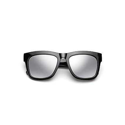 DT Gafas de Sol polarizadas para Hombre Gafas de Sol cuadradas Grandes (Color : 1