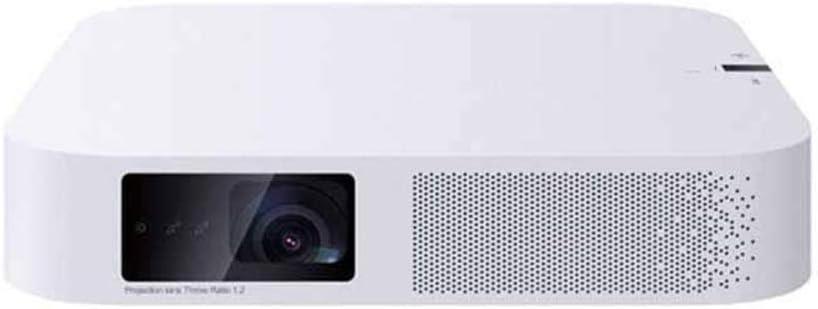 データプロジェクター アンドロイド6.0 1080PのフルHD 700 ANSIルーメンの3D無線LAN Bluetoothのホームシアタープロジェクター 映画 家庭用 (Color : Photo color, Size : One size)