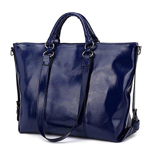 Bolso mujer Oscuro para Powlance Azul al hombro 6qnzndRw