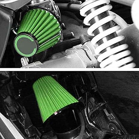 Cikuso 42Mm Filtres /à Air Moto Universels pour CB 250 N R S pour Kawasaki Kz250 A1 A2 A3 B1 B2 Gpz 305 pour Gs250 T E Gs450 Gsx 250 pour Dt250 MX Xs250